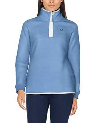 Crew Clothing Women's 1/2 Zip Sweat Sweatshirt