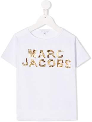Little Marc Jacobs embellished logo T-shirt