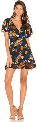 Cleobella Oxford Wrap Mini Dress in Navy $150 thestylecure.com