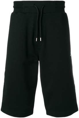 McQ Swallow badge shorts