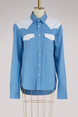 Ami Shirt with contrast pockets