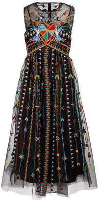 RED Valentino Love Celebration maxi dress