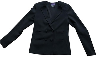 Longchamp Black Cotton Jacket for Women
