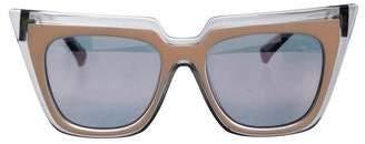 Self-Portrait x Le Specs Edition One Cat-Eye Sunglasses