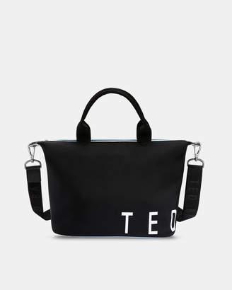 Ted Baker LINNA Branded neoprene small tote bag