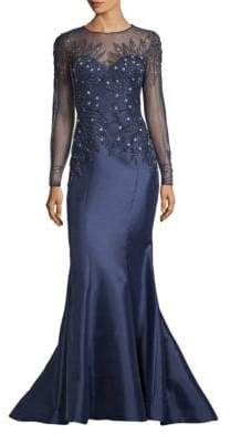 Beaded Top Gown