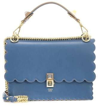 Fendi Kan I Classic leather shoulder bag