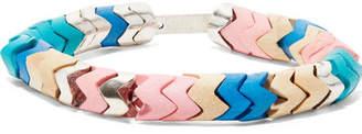 Isabel Marant Silver-tone Beaded Bracelet - Pink