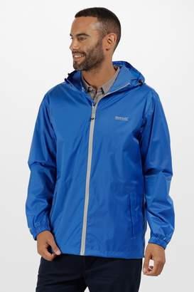 Next Mens Regatta Oxford Blue Pack It Waterproof Jacket