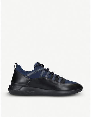 Tod's Tods No Code leather and neoprene trainers
