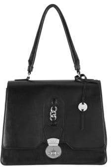 Lodis Rodeo Chain Justina RFID Leather Flap Satchel