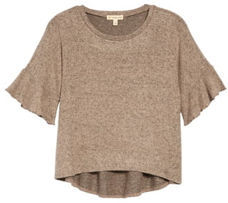 Tucker + Tate Ruffle Knit Top