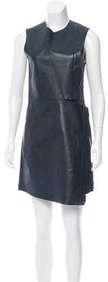 Calvin Klein Collection Leather Mini Dress