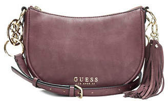 GUESS Alana Top Zip Logo Crossbody Bag
