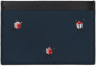 PS by Paul Smith Multicolor Dancing Dice Card Holder $150 thestylecure.com