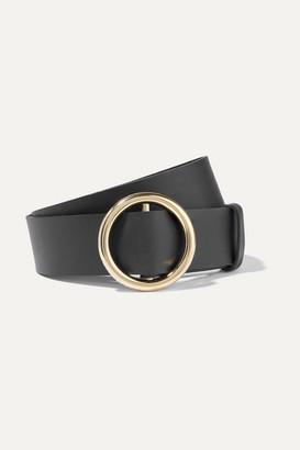 Frame Le Circle Leather Belt - Black