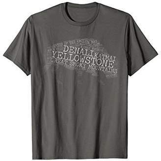 Buffalo David Bitton National Park T Shirt National Park Tee T Shirt