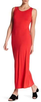 WEST KEI Solid Cross Strap Maxi Dress