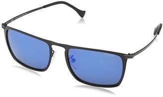 Police Sunglasses Men's SPL155 Rival 8 Rectangular Sunglasses