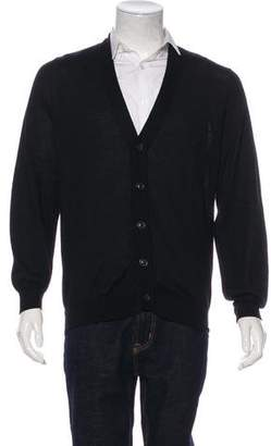 Maison Margiela Cashmere Button-Up Cardigan