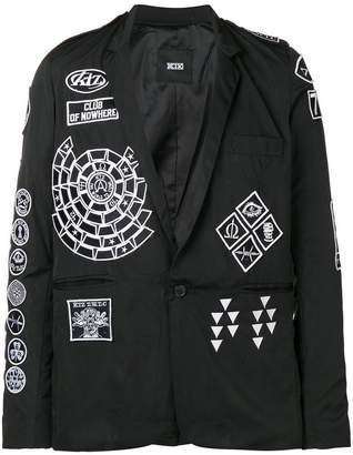 Kokon To Zai Scout patch blazer