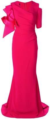 Talbot Runhof Pouf1 dress