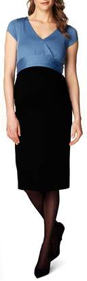 Noppies 'Tara' Surplice Maternity Dress
