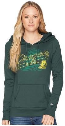 Champion College Oregon Ducks Eco University Fleece Hoodie Women's Sweatshirt
