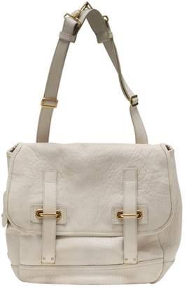 Saint Laurent Messenger leather handbag.