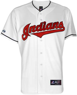 Majestic Big & Tall Cleveland Indians Cool Base Replica Jersey