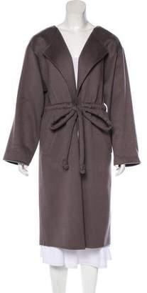 Halston Cashmere Long Coat