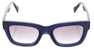 Celine Gradient Wayfarer Sunglasses