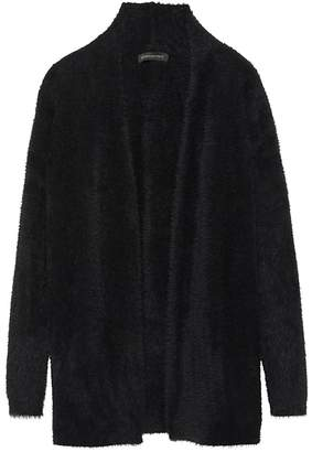 Banana Republic Petite Fuzzy Long Cardigan Sweater