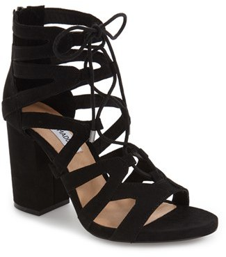 Steve Madden 'Gal' Strappy Lace-Up Sandal (Women) $89.95 thestylecure.com