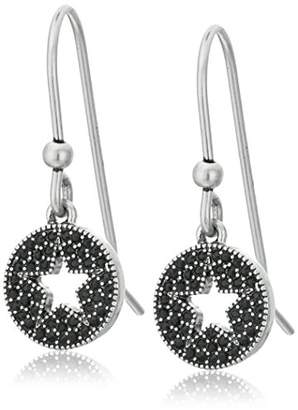 Marc Jacobs Pave Star Charms Earrings