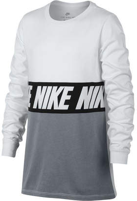 Nike Big Boys Sportswear Advance 15 Training Cotton T-Shirt