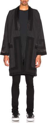 Visvim Ruunpe Coat in Charcoal | FWRD