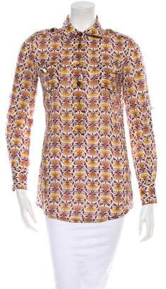 Tory Burch Floral Top