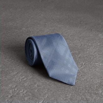 Burberry Classic Cut Check Silk Jacquard Tie
