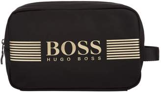 BOSS GREEN Logo Washbag