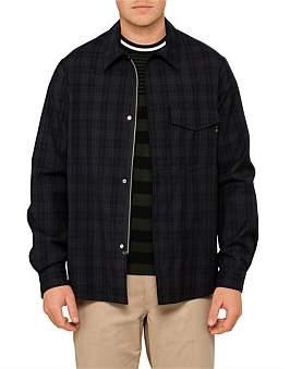 Paul Smith Casual Wool Check Shirt Jacket