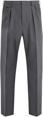 Gucci Pleated-detail wool trousers