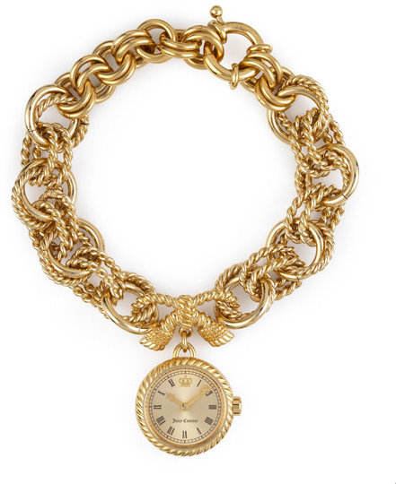 Juicy Couture Beloved Chain Dangle Watch