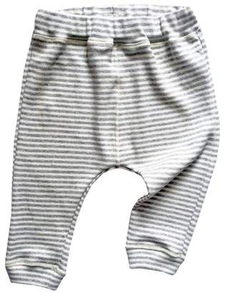 Organic Zoo Grey Stripes Pants