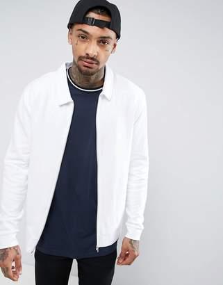 Jersey Harrington Jacket