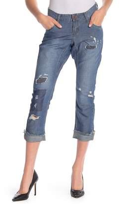 One Teaspoon Lonely Boy Linen Blend Crop Jeans