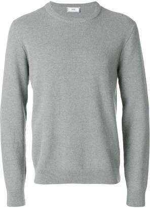 Ami Alexandre Mattiussi seed stitch crewneck sweater
