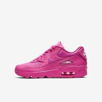 Nike 90 Leather Big Kids' Shoe