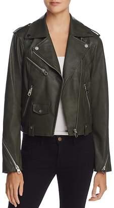 AQUA Faux Leather Moto Jacket - 100% Exclusive $128 thestylecure.com