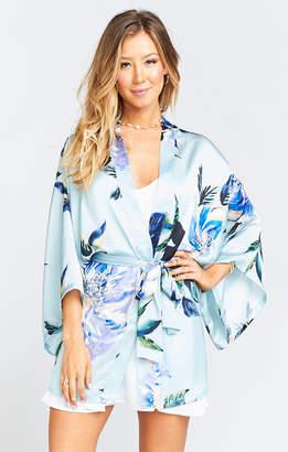 Show Me Your Mumu Texas Kimono ~ Mint to Be Floral